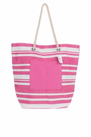 Дамска чанта, Цвят Розов, Текстил, Цена 25,25лв.