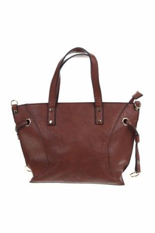 Дамска чанта, Цвят Кафяв, Еко кожа, Цена 25,88лв.