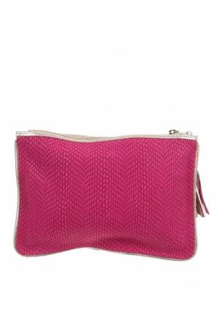 Γυναικεία τσάντα Mile, Χρώμα Ρόζ , Γνήσιο δέρμα, Τιμή 18,71€
