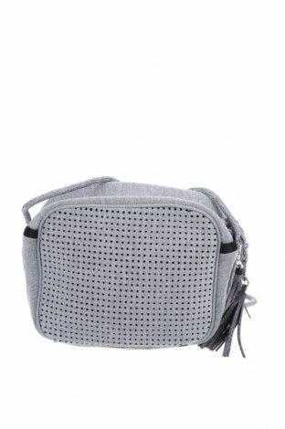 Γυναικεία τσάντα, Χρώμα Γκρί, Κλωστοϋφαντουργικά προϊόντα, Τιμή 16,89€
