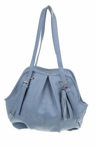 Дамска чанта, Цвят Син, Еко кожа, Цена 23,21лв.