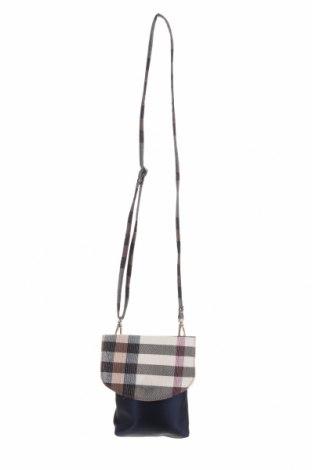 Γυναικεία τσάντα, Χρώμα Μπλέ, Κλωστοϋφαντουργικά προϊόντα, Τιμή 5,23€