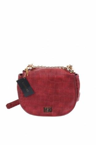 Γυναικεία τσάντα Bebe, Χρώμα Κόκκινο, Δερματίνη, Τιμή 26,14€