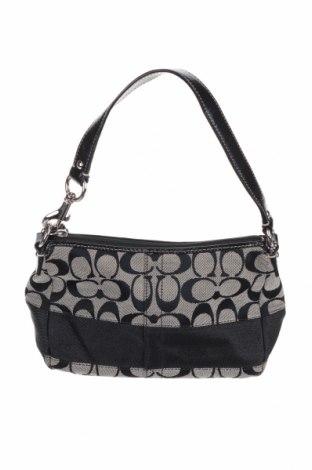 Γυναικεία τσάντα Coach, Χρώμα Γκρί, Κλωστοϋφαντουργικά προϊόντα, γνήσιο δέρμα, Τιμή 53,07€