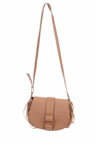 Дамска чанта H&M, Цвят Кафяв, Еко кожа, Цена 18,43лв.