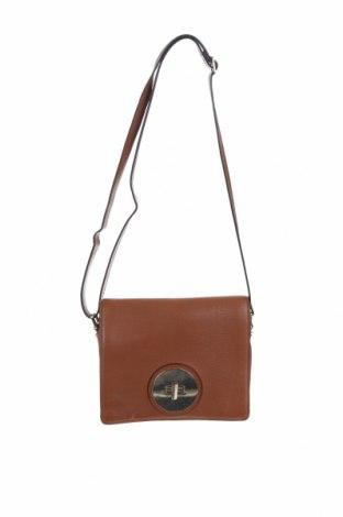 Дамска чанта Marks & Spencer Autograph, Цвят Кафяв, Естествена кожа, Цена 43,40лв.