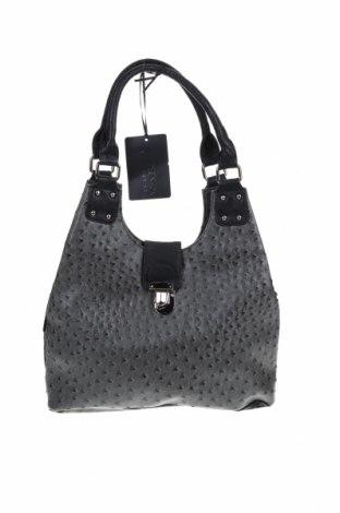 Дамска чанта Masquenada, Цвят Сив, Еко кожа, Цена 22,79лв.