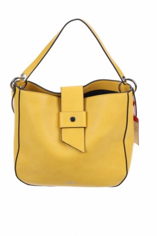 Γυναικεία τσάντα S.Oliver, Χρώμα Κίτρινο, Δερματίνη, Τιμή 49,87€