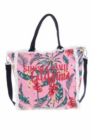 Дамска чанта S.Oliver, Цвят Розов, Текстил, Цена 35,60лв.