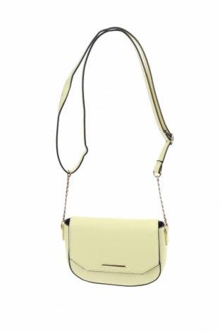 Дамска чанта Sinsay, Цвят Жълт, Еко кожа, Цена 27,30лв.
