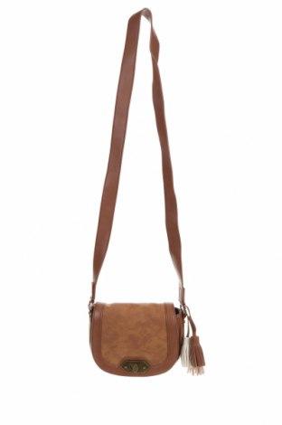 Дамска чанта Steve Madden, Цвят Кафяв, Еко кожа, Цена 26,46лв.