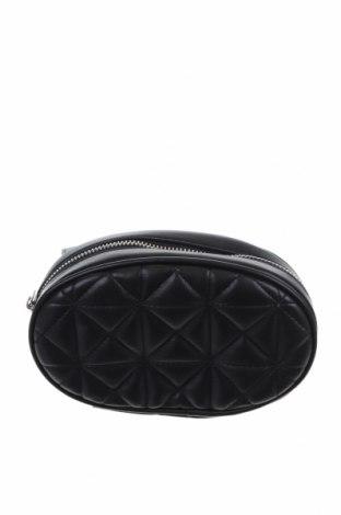 Дамска чанта Stradivarius, Цвят Черен, Еко кожа, Цена 12,60лв.