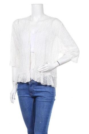 Дамска жилетка, Размер XL, Цвят Бял, 99% полиамид, 1% еластан, Цена 6,30лв.