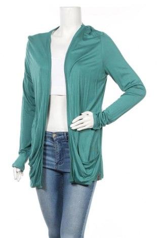 Дамска жилетка Edc By Esprit, Размер XL, Цвят Зелен, Вискоза, Цена 26,25лв.