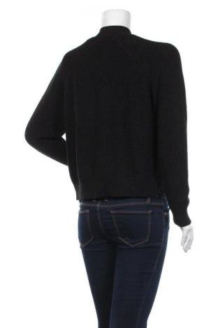 Дамска жилетка Even&Odd, Размер M, Цвят Черен, 50% памук, 50% акрил, Цена 22,54лв.