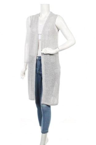 Дамска жилетка S.Oliver, Размер XXS, Цвят Сив, 100% лен, Цена 19,08лв.