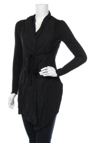 Дамска жилетка Tom Tailor, Размер S, Цвят Черен, Вискоза, Цена 8,40лв.