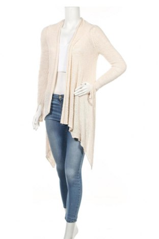 Дамска жилетка Zara Knitwear, Размер M, Цвят Бежов, Цена 10,09лв.