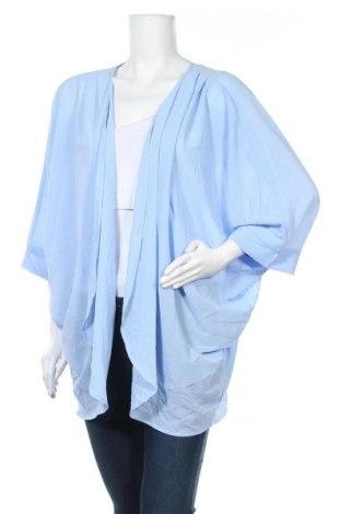 Γυναικεία ζακέτα Zenana Outfitters, Μέγεθος XL, Χρώμα Μπλέ, Πολυεστέρας, Τιμή 5,46€