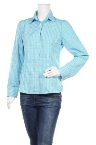 Дамска риза Inoc, Размер M, Цвят Син, Полиестер, Цена 6,25лв.