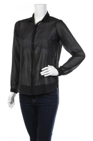 Дамска риза K. Woman, Размер S, Цвят Черен, Цена 5,53лв.