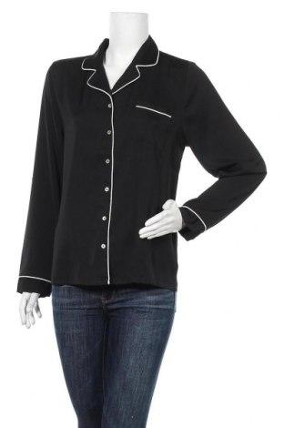 Дамска риза Anna Field, Размер M, Цвят Черен, Полиестер, Цена 12,25лв.