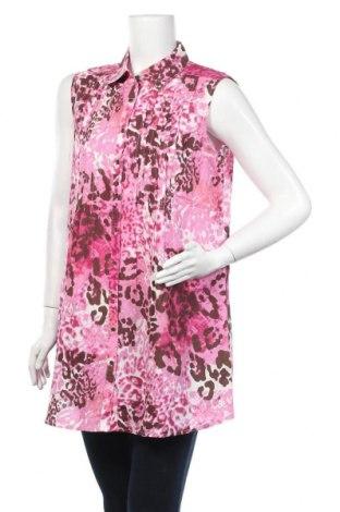 Дамска риза Anne Weyburn, Размер L, Цвят Многоцветен, Памук, Цена 4,73лв.