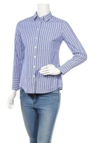 Дамска риза Banana Republic, Размер S, Цвят Син, 97% памук, 3% еластан, Цена 34,50лв.
