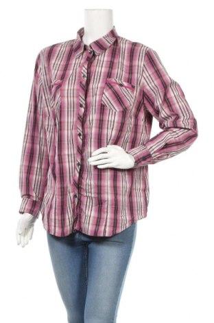 Дамска риза Barbara Lebek, Размер XL, Цвят Розов, 74% памук, 23% полиестер, 3% еластан, Цена 29,40лв.