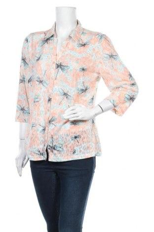 Дамска риза Charles Vogele, Размер L, Цвят Многоцветен, 65% полиестер, 35% памук, Цена 5,48лв.