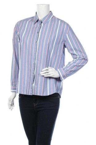 Дамска риза Comma,, Размер S, Цвят Син, Памук, Цена 11,03лв.