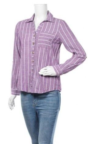 Γυναικείο πουκάμισο Defacto, Μέγεθος S, Χρώμα Βιολετί, Τιμή 4,68€