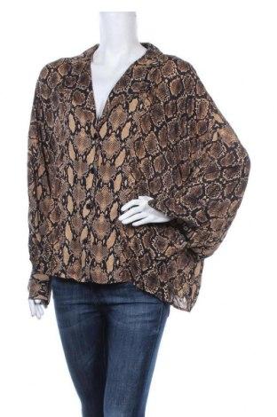 Дамска риза Design By Kappahl, Размер L, Цвят Многоцветен, Вискоза, Цена 5,46лв.