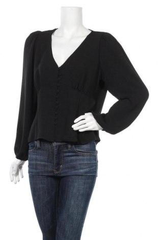 Дамска риза Dorothy Perkins, Размер XL, Цвят Черен, Полиестер, Цена 25,37лв.