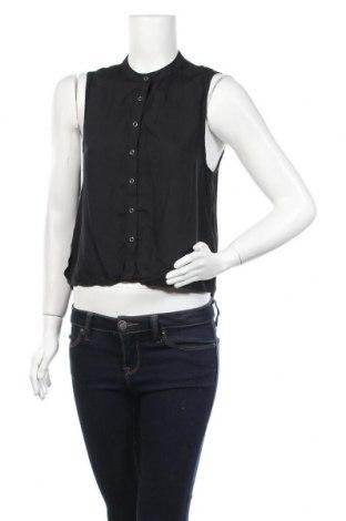 Γυναικείο πουκάμισο Dr. Denim, Μέγεθος S, Χρώμα Μαύρο, Μοντάλ, Τιμή 8,77€