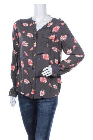 Дамска риза Educe, Размер M, Цвят Сив, Вискоза, Цена 8,09лв.