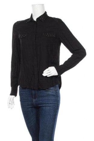 Дамска риза Envii, Размер S, Цвят Черен, Вискоза, Цена 7,56лв.