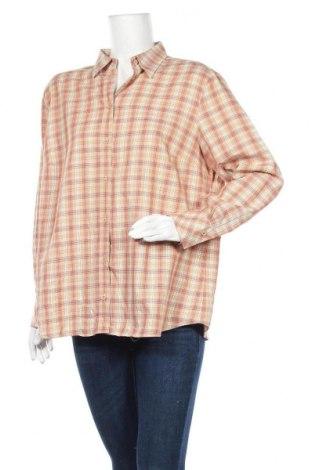 Дамска риза Eterna, Размер XL, Цвят Многоцветен, Памук, Цена 6,05лв.