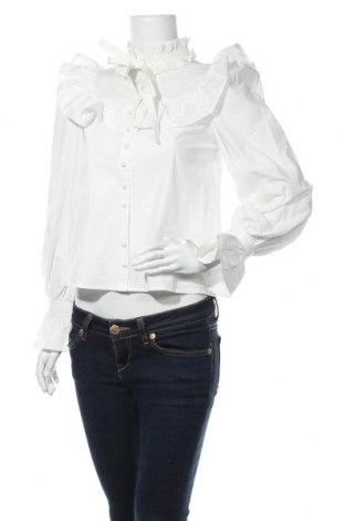 Γυναικείο πουκάμισο Fashion Union, Μέγεθος XS, Χρώμα Λευκό, Βαμβάκι, Τιμή 10,72€