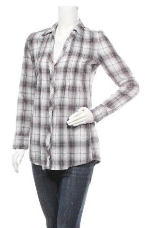 Дамска риза Fresh Made, Размер M, Цвят Сив, Памук, Цена 6,04лв.