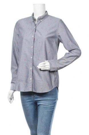 Дамска риза Gap, Размер M, Цвят Сив, Памук, Цена 15,44лв.