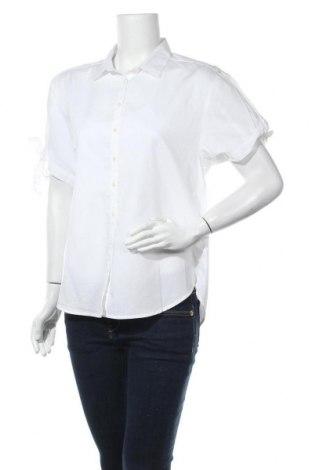 Дамска риза Gap, Размер S, Цвят Бял, Памук, Цена 16,00лв.