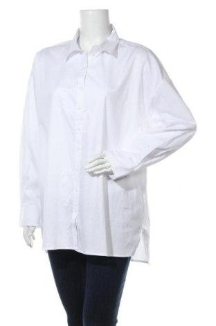 Дамска риза Gestuz, Размер L, Цвят Бял, Памук, Цена 76,45лв.
