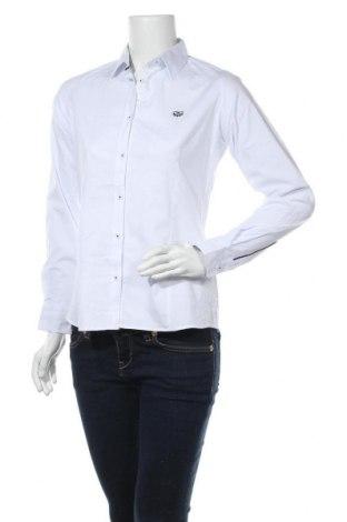Дамска риза Giorgio Di Mare, Размер M, Цвят Бял, 97% памук, 3% еластан, Цена 47,60лв.