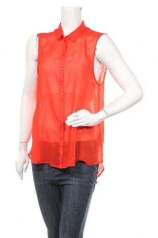 Dámská košile  H&M, Velikost XL, Barva Červená, Polyester, Cena  60,00Kč