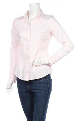 Дамска риза H&M, Размер M, Цвят Розов, 36% полиестер, 31% памук, 29% полиамид, 2% еластан, Цена 16,07лв.