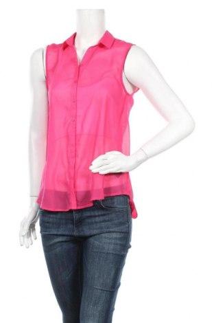 Дамска риза H&M, Размер S, Цвят Розов, Полиестер, Цена 4,20лв.