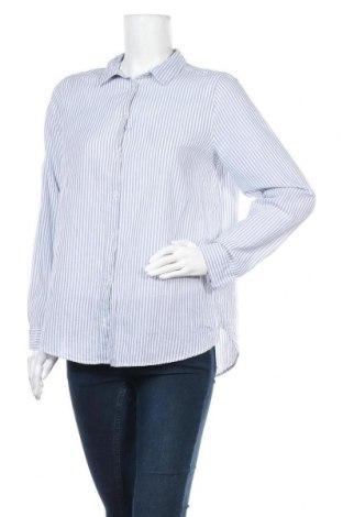 Дамска риза H&M Divided, Размер M, Цвят Син, Памук, Цена 7,14лв.