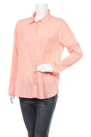 Дамска риза H&M L.O.G.G., Размер L, Цвят Розов, Памук, Цена 4,73лв.