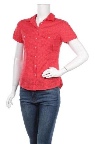 Дамска риза H&M L.O.G.G., Размер S, Цвят Червен, Памук, Цена 15,96лв.